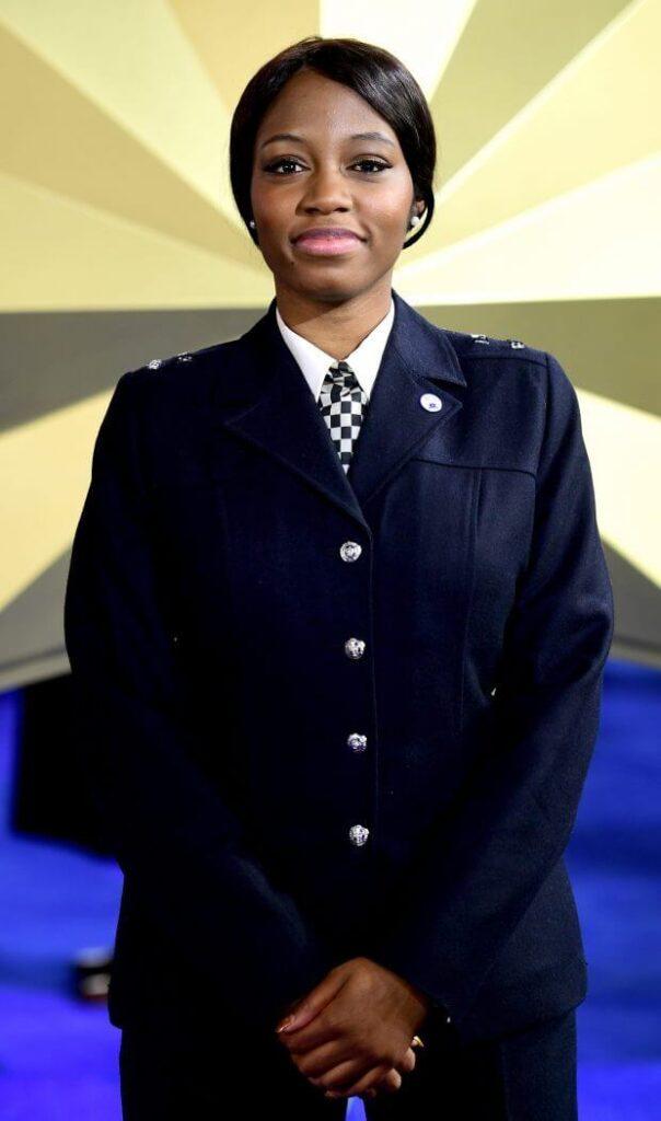Met Police poster girl