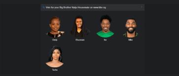 Big Brother Naija 2019 Week 13 Voting Poll
