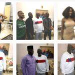 Senator Dino Melaye hosts evicted bbnaija housemates