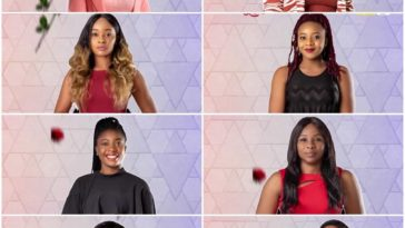 8 female Ultimate love housemates