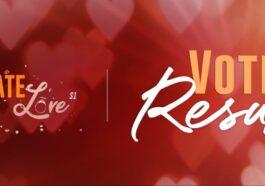 Ultimate Love Season 1 Voting Result