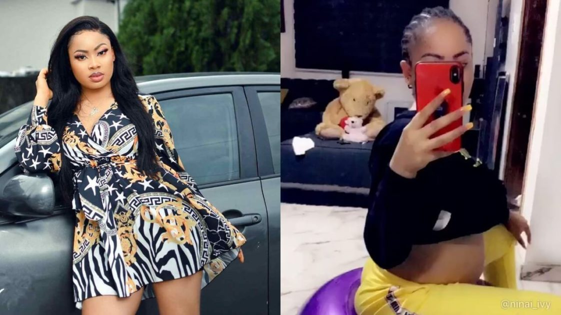 BBNaija Nina Ivy Shows Off Her Baby Bump (Video) - Big ...