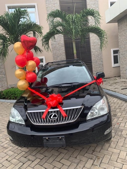 Ultimate Love winner, Rosie receives a car gift from her fans on her 35th birthday (Video) Ultimate Love