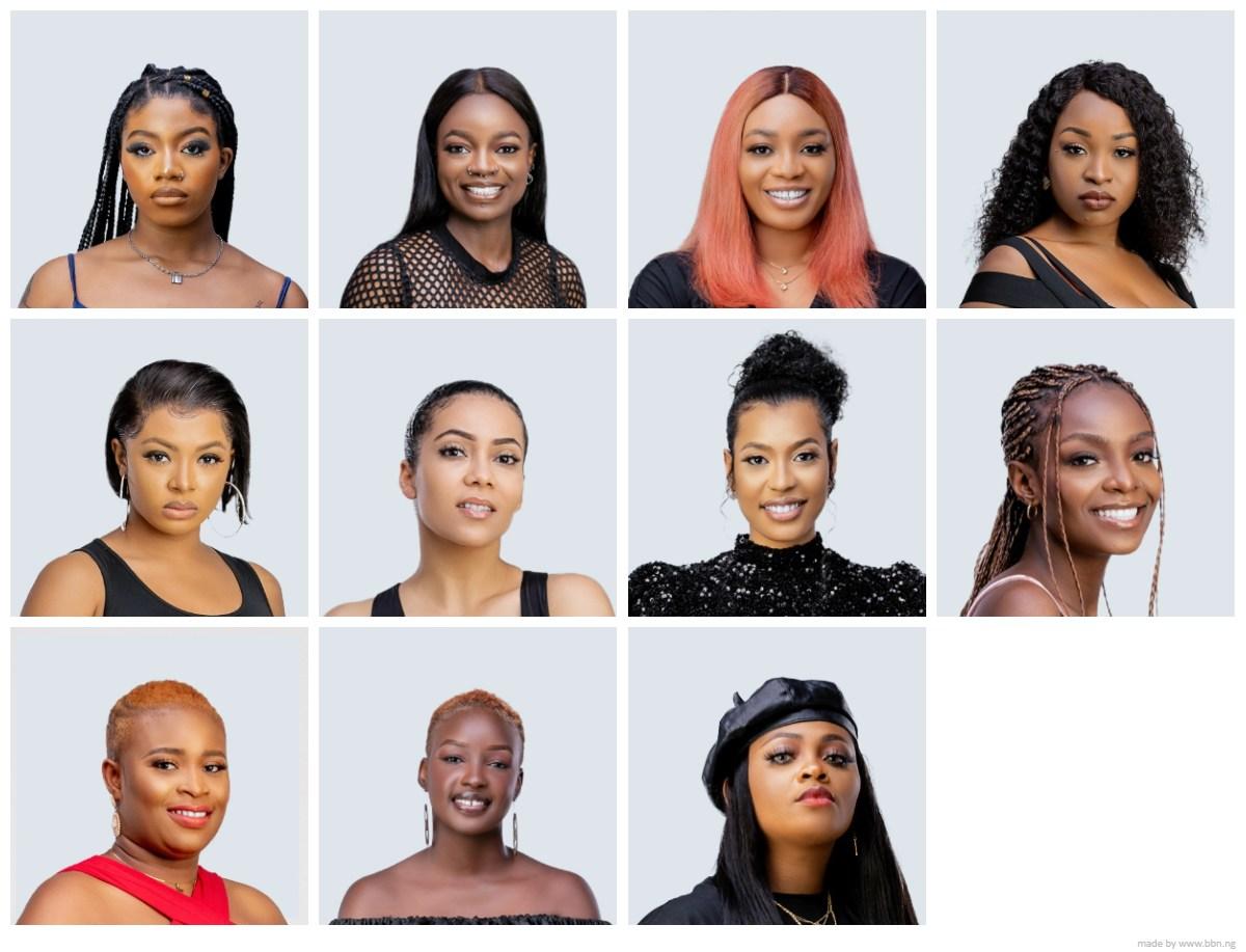 Most Beautiful Big Brother Naija 2021 Female Housemates